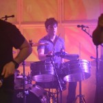 Jethro on timbal/drums
