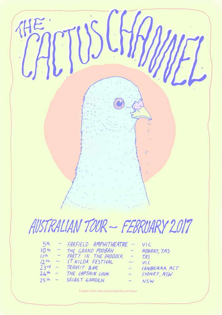 The Cactus Channel - AUS Feb tour